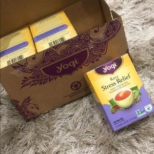 YOGI stress relief tea 6 pack